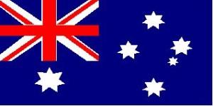 Národná vlajka: austrália
