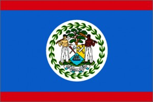National flag: Belize