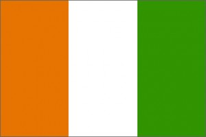 National flag: Cote d'Ivoire