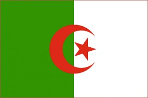 National flag: Algeria