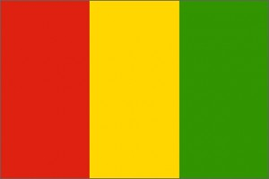 National flag: Guinea