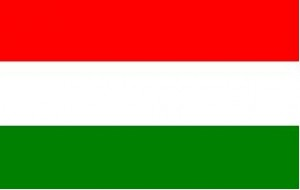 National flag: Hungary