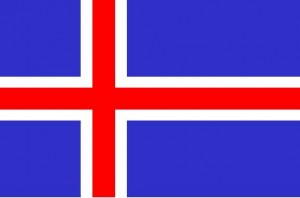 National flag: Iceland