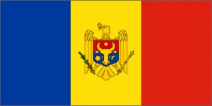 National flag: Moldova