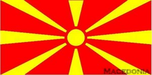 National flag: Macedonia
