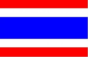 National flag: Thailand