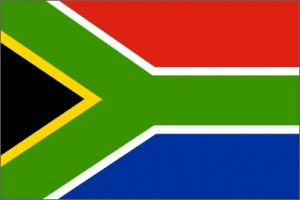 National flag: South Africa